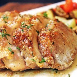 Brown Sugar and Garlic Pork Tenderloin