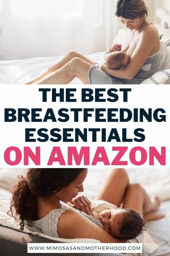 best breastfeeding essentials on Amazon