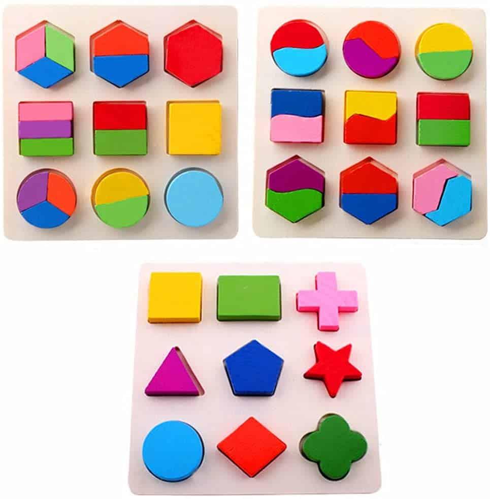 montessori shape puzzle