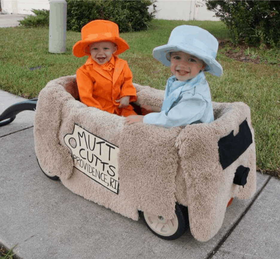 Harry & Lloyd Halloween Costume