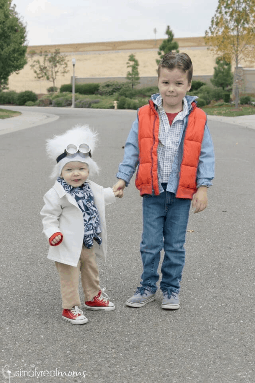 Marty and Doc Halloween Costume