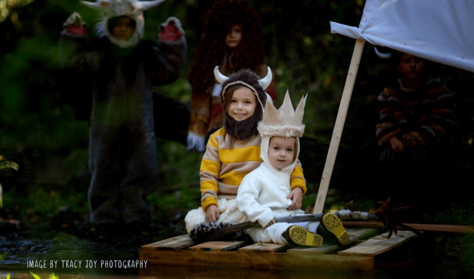 Max and Wild Thing Halloween Costume