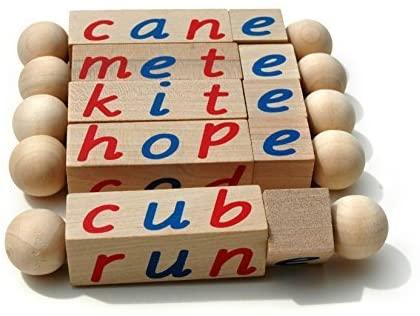 letter block cubes