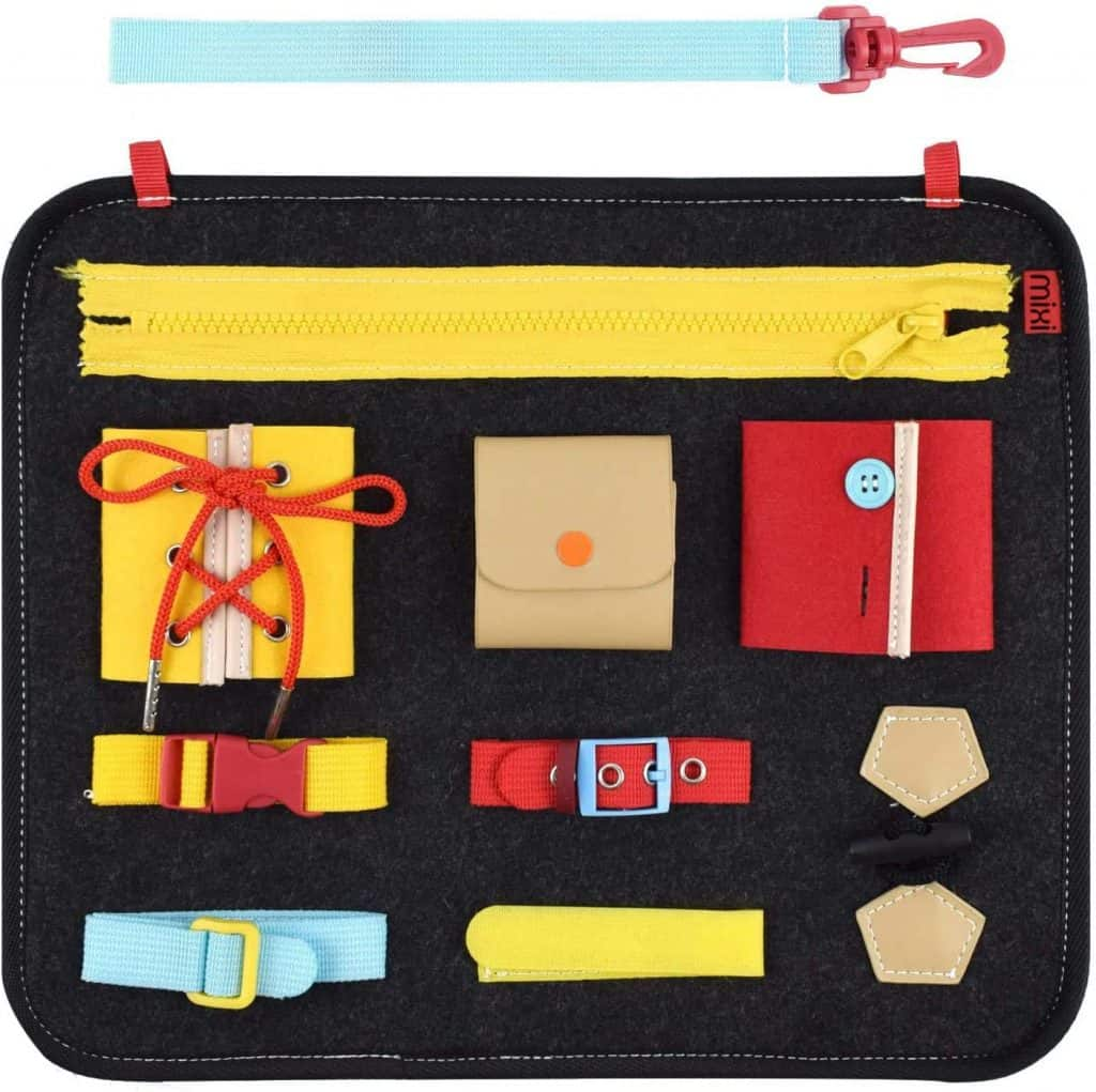 busy board for young toddlers
