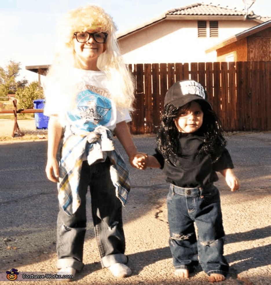 Waynes World Brothers Costume