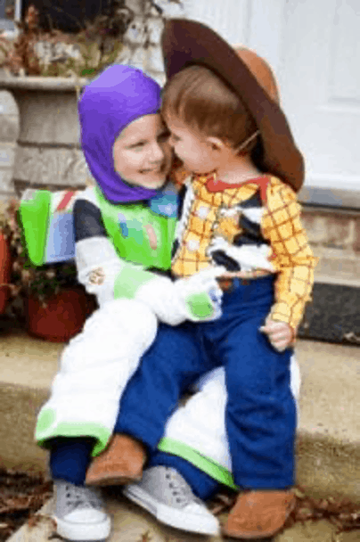 Buzz and Woody Halloween Costume