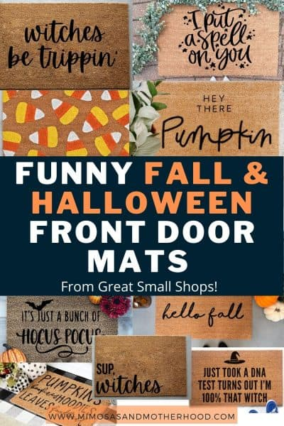 Halloween Front Doormats