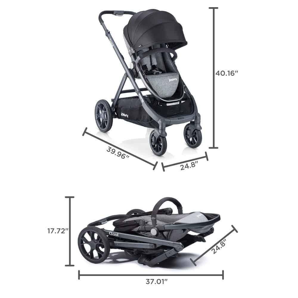 Joovy Qool Stroller Dimensions