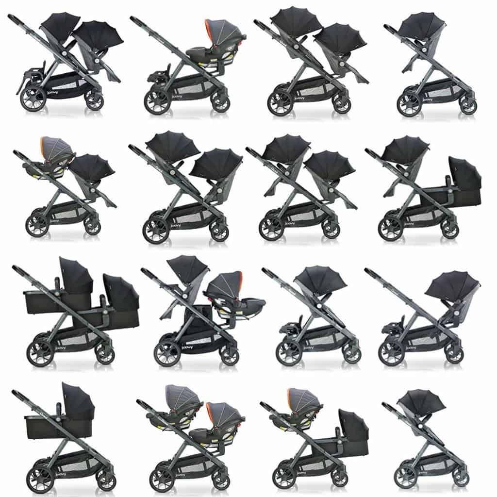 Joovy Qool stroller configurations