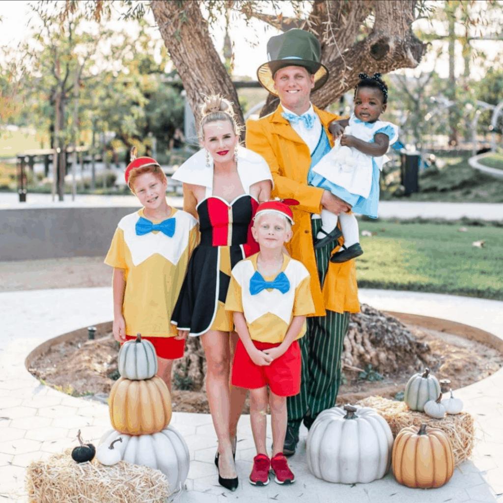 tweedle dee family costume
