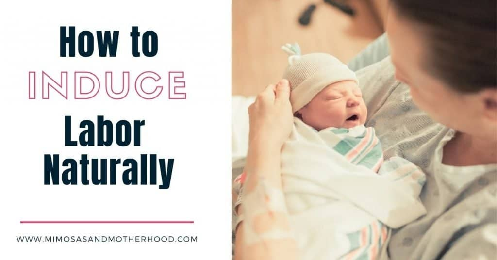 natural ways to start labor yourself