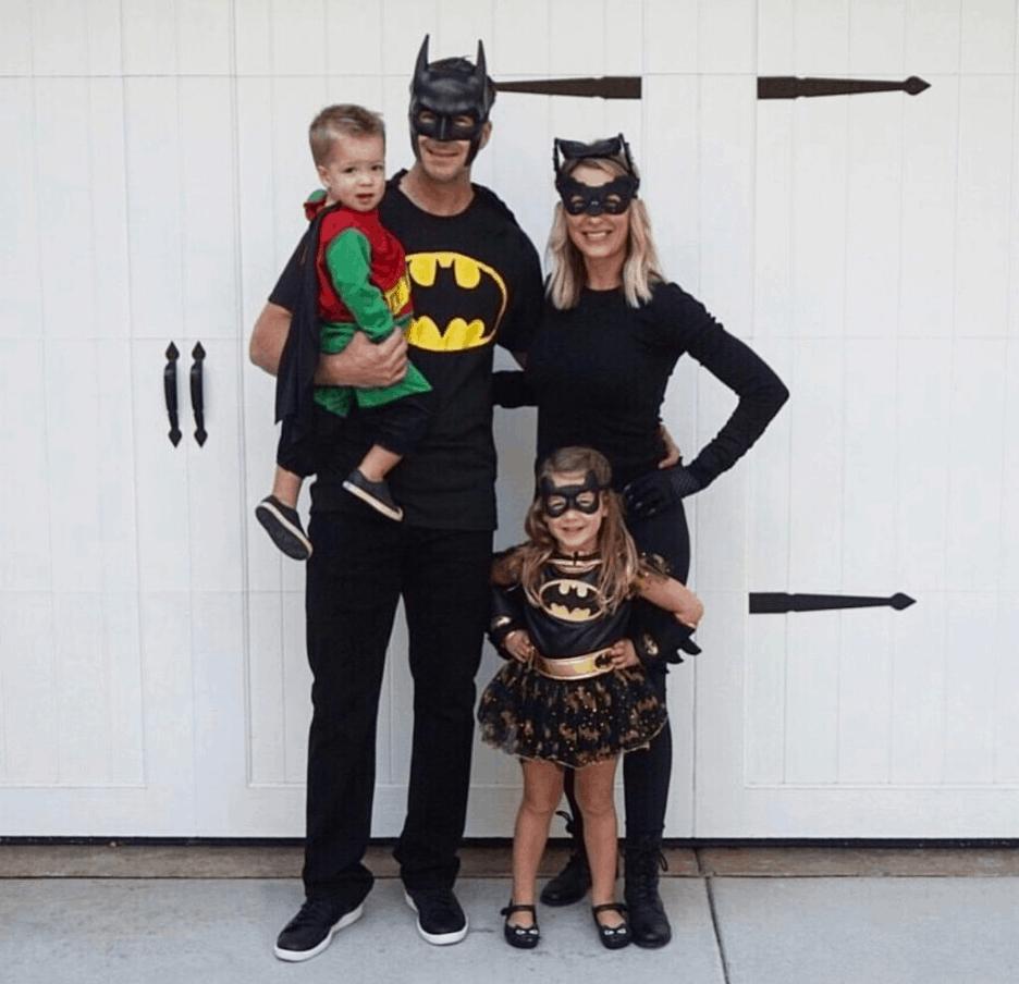Batman Matching family costume