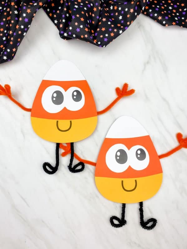 candy corn craft for toddlers