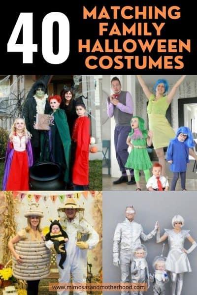 easy family halloween costumes