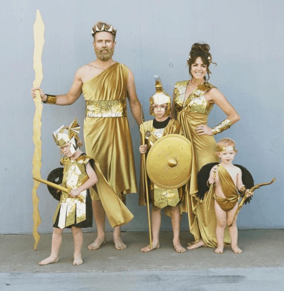 greek gods costume