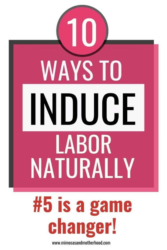 how to start labor contractions naturally