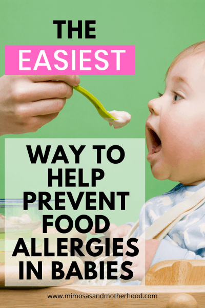 how to prevent food allergies in your child