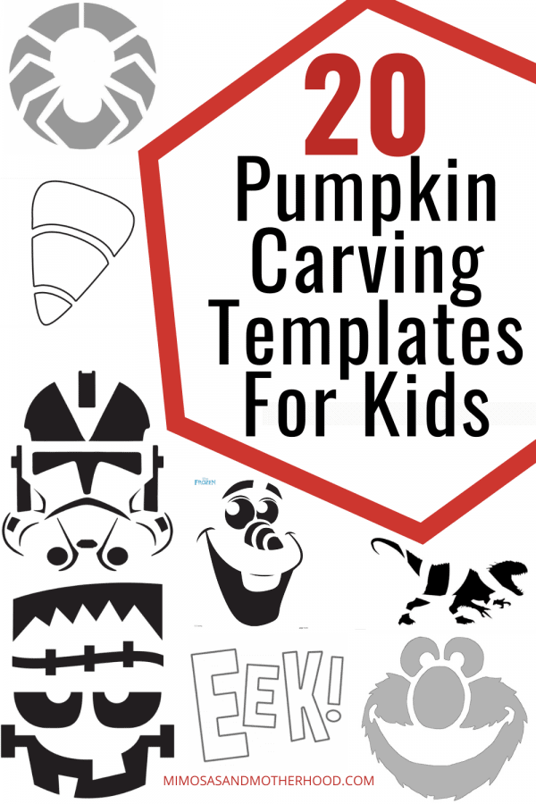 list of pumpkin carving templates for kids