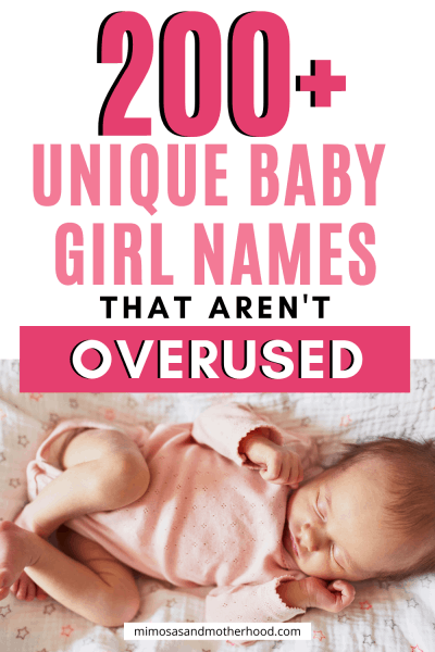 list of baby girl names