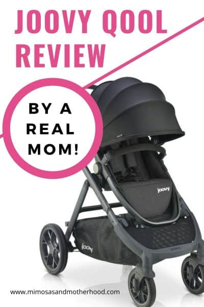 Review of the Joovy Qool Stroller by a real mom