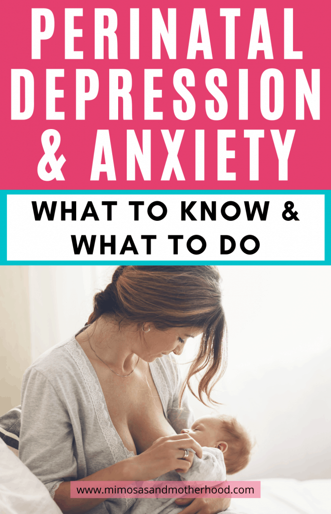 title image for perinatal depression and anxiety blog post