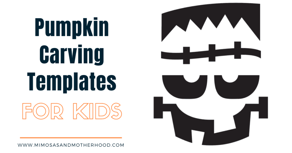 collection of pumpkin carving templates for kids