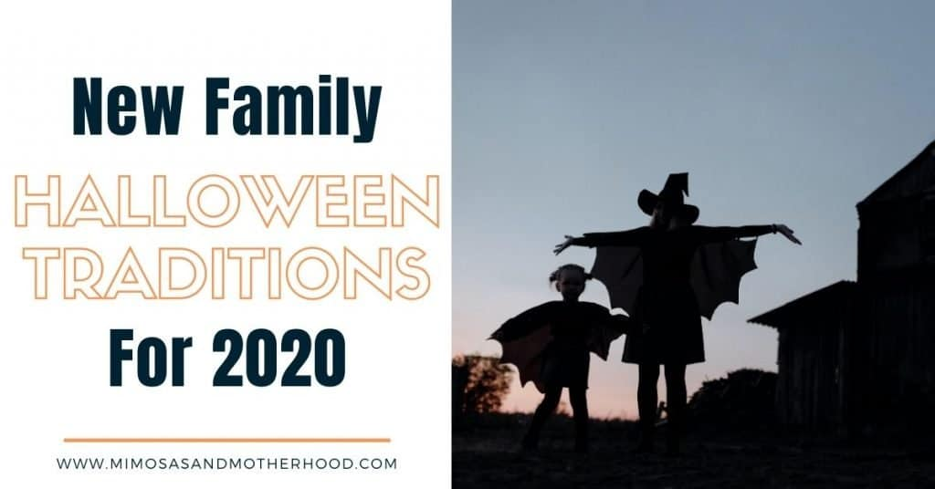 title image for new halloween traditions blog post