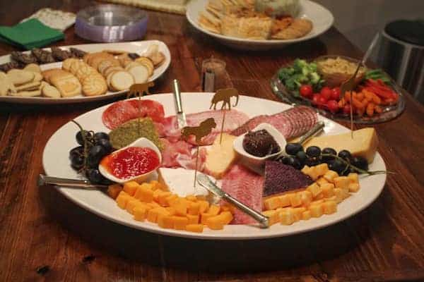 close up image of a charcuterie plate