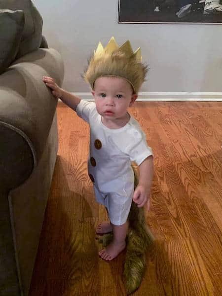 birthday boy in wild one costume