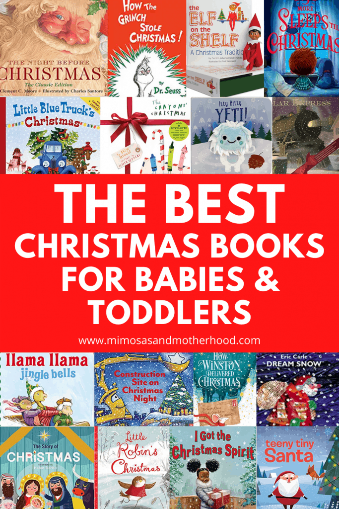 the best christmas books for babies and toddlers
