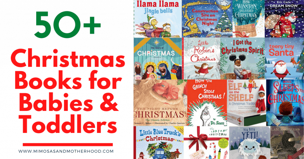 50+ Christmas books for babies and toddlers