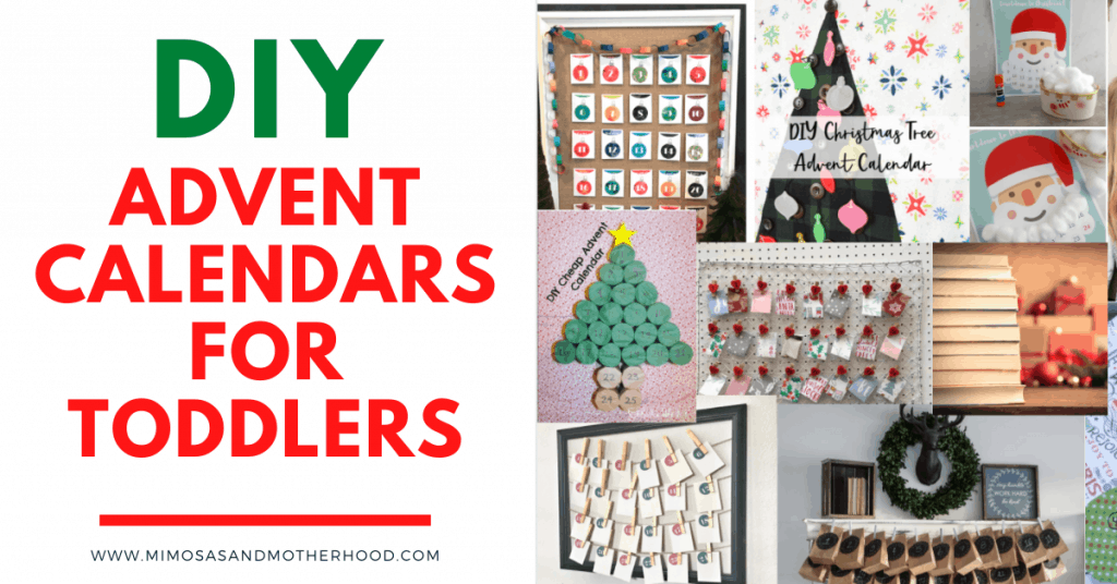 DIY advent calendars for toddlers