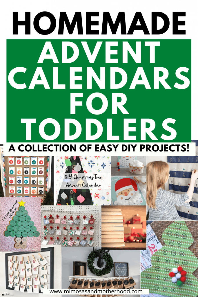 homemade advent calendars for toddlers