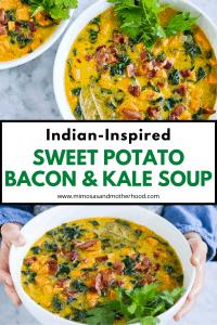 title image for kale soup recipe