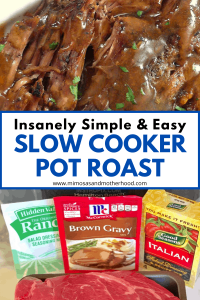 title image for easy pot roast recipe