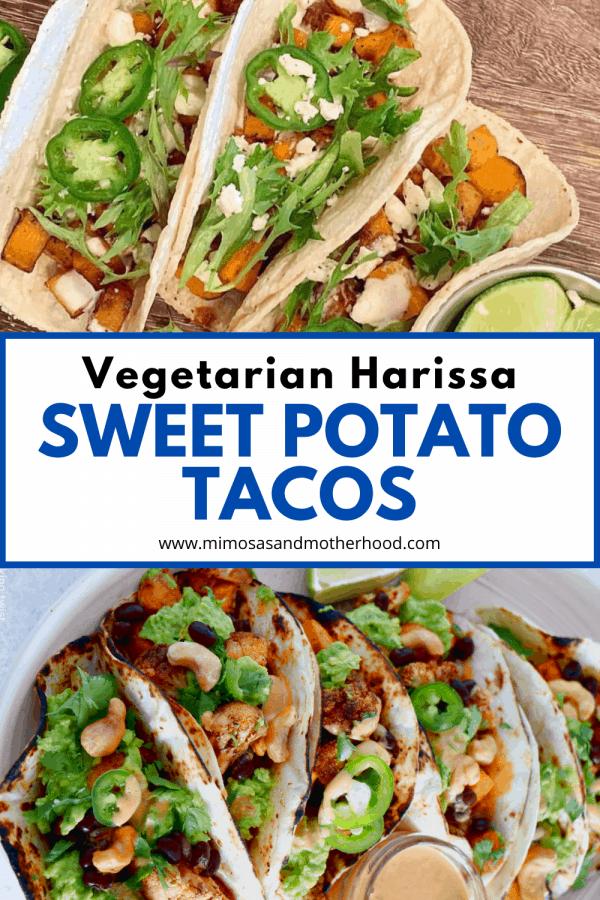 title image for sweet potato taco recipe