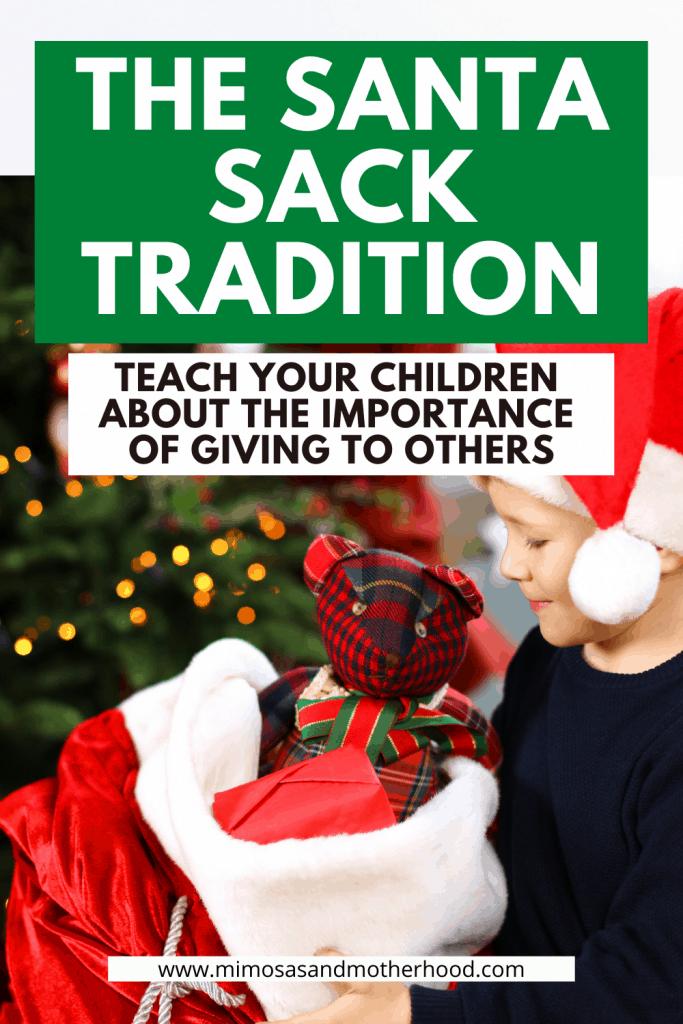 santa sack tradition title