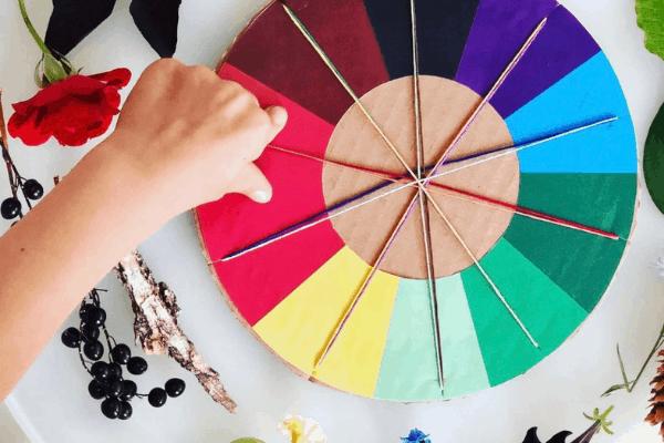 nature color wheel printable