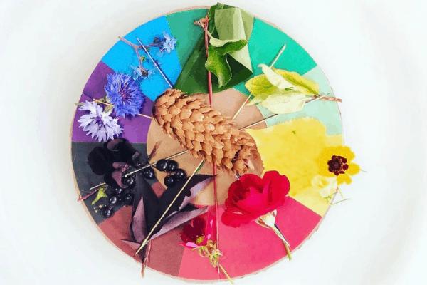 nature color wheel