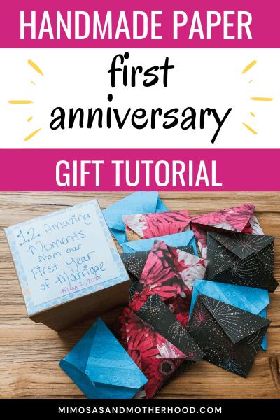 creative first anniversary gift