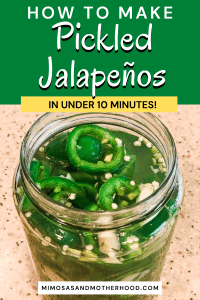 easy pickled jalapeños recipe