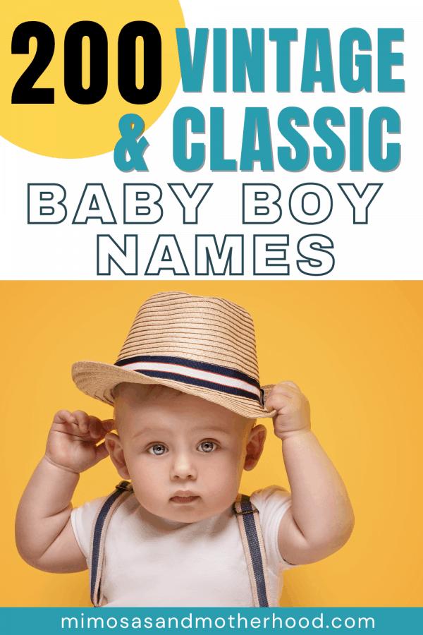 timeless baby boy names