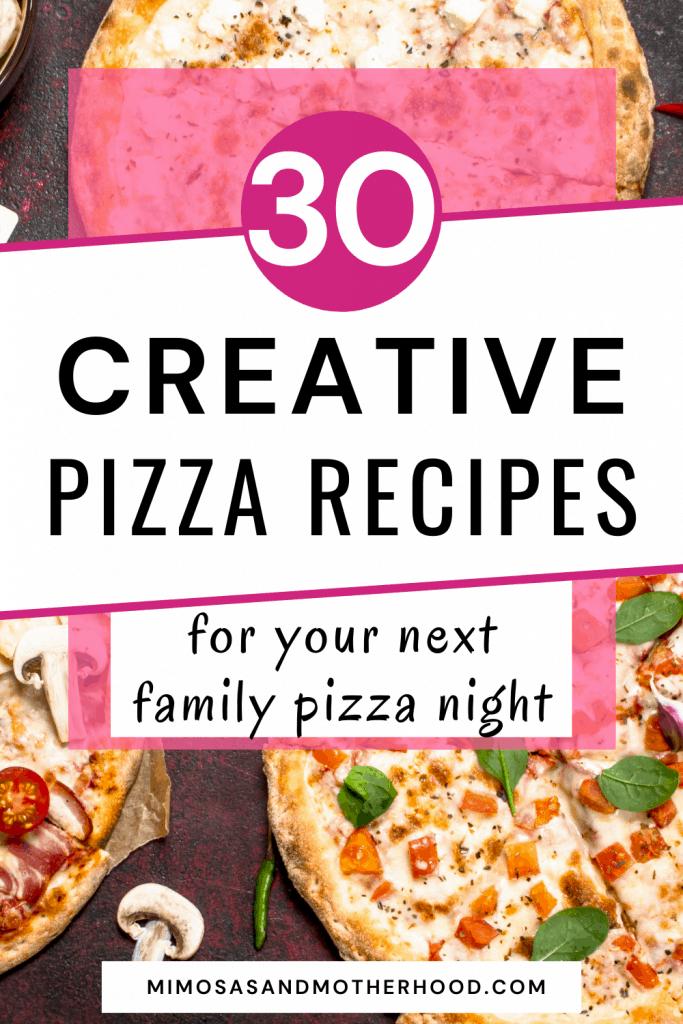 kid friendly pizza recipes