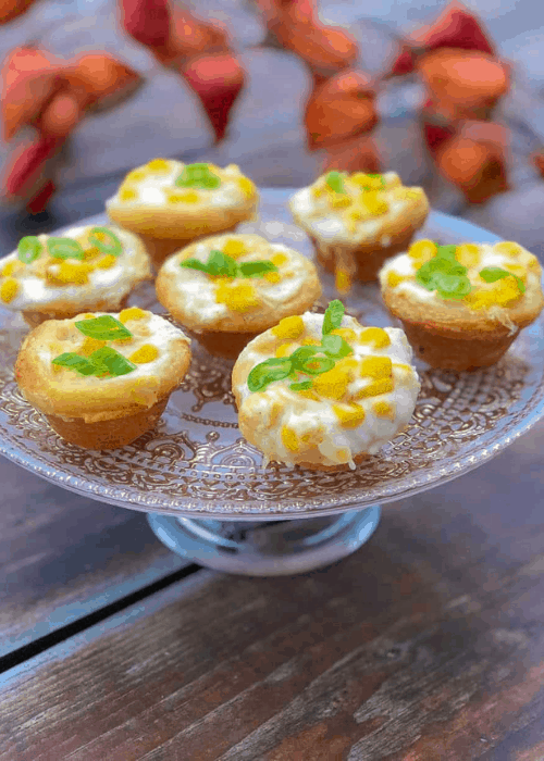 thanksgiving recipes for kids, creamed corn biscuits