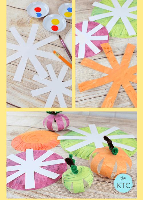 3d pumpkin craft