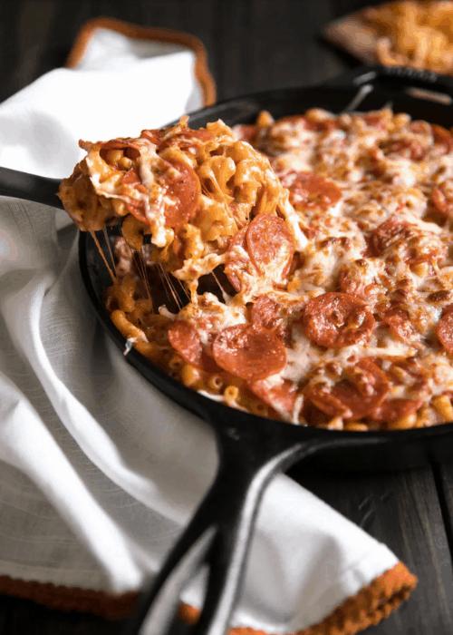 pepperoni pizza macaroni