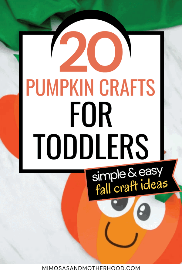 list of easy fall crafts for kids