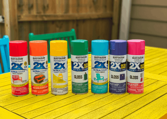 spray paint for wood furniture