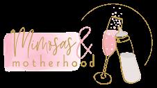 logo mimosas & motherhood