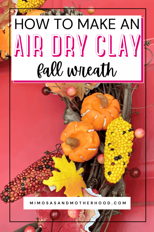 homemade air dry clay tutorial